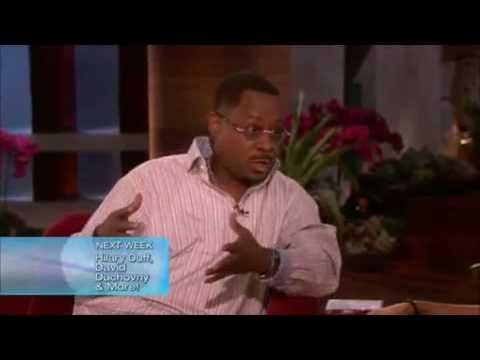 Martin Lawrence Interview on The Ellen DeGeneres Show