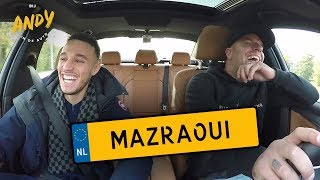 Noussair Mazraoui - Bij Andy in de auto