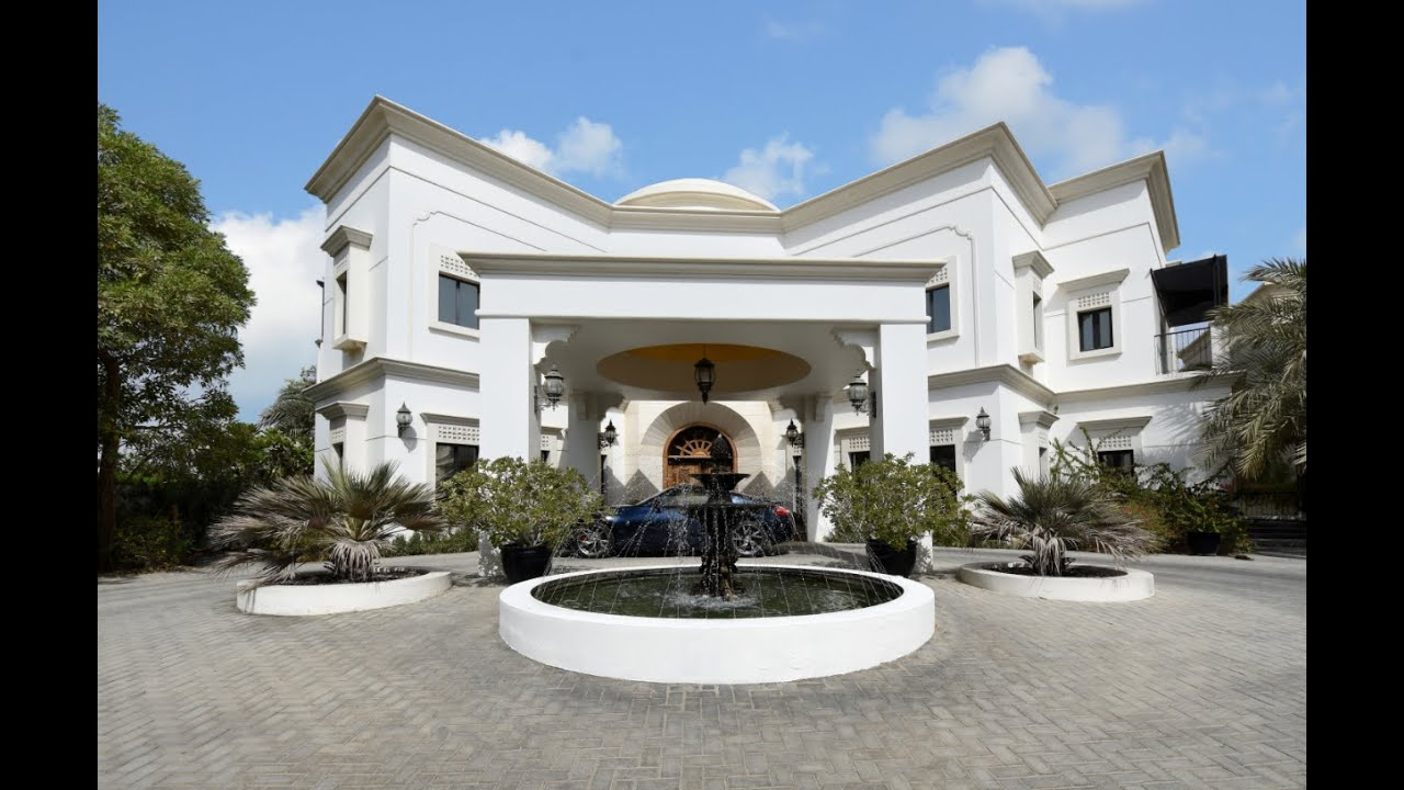 6 Bedroom villa for sale in Emirates Hills, Dubai - YouTube