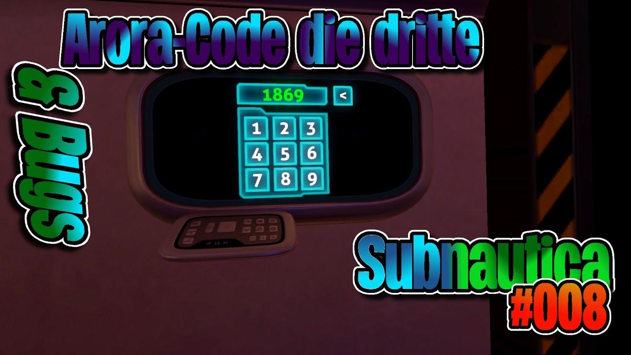 subnautica arora code die dritte bugs subnautica map ger 008 youtube. Black Bedroom Furniture Sets. Home Design Ideas