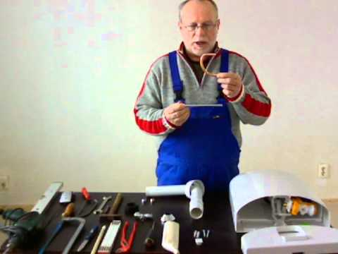 Cool Spülkasten und Werkzeuge werden für Montage vorgestellt. - YouTube UB16