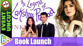Ranbir kapoor | twinkle khanna | the legend of lakshmi prasad | book launch | event uncut