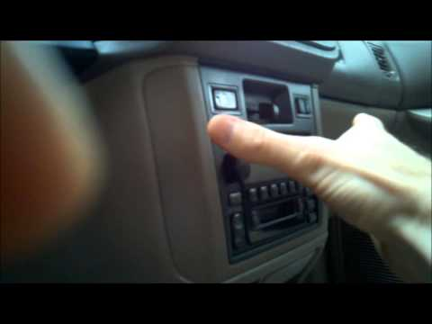 2000 Toyota Sienna Heater Control Backlight Replacement