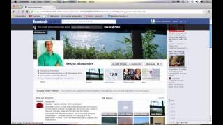 Facebook Privacy Shortcuts Tutorial 2013