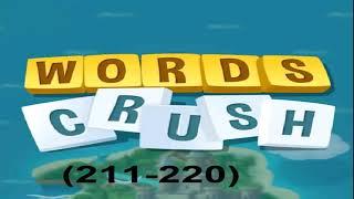 WORDS CRUSH LEVEL (211-220) screenshot 5