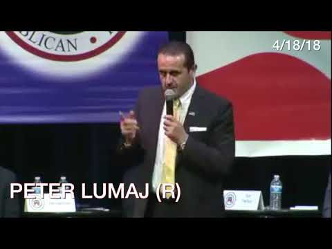 "CT GOP Frontrunner Peter Lumaj Jokes About ""Birther"" Claim"