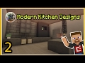 Minecraft PE   8 Modern Kitchen Designs