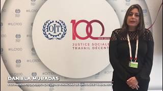 Daniela Muradas - Brasil na Conferência da OIT
