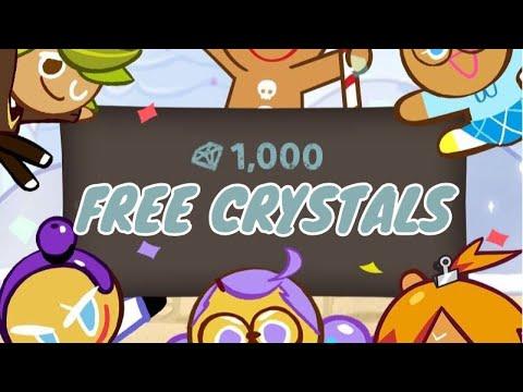 CROB FREE 1000 CRYSTAL CODE Cookie Run Ovenbreak