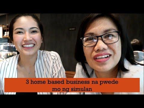 3 home based business na pwede mo ng simulan