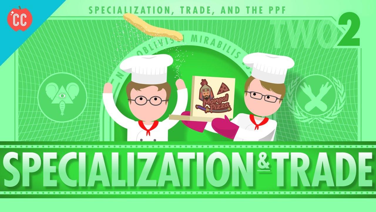 medium resolution of Specialization and Trade: Crash Course Economics #2 - YouTube