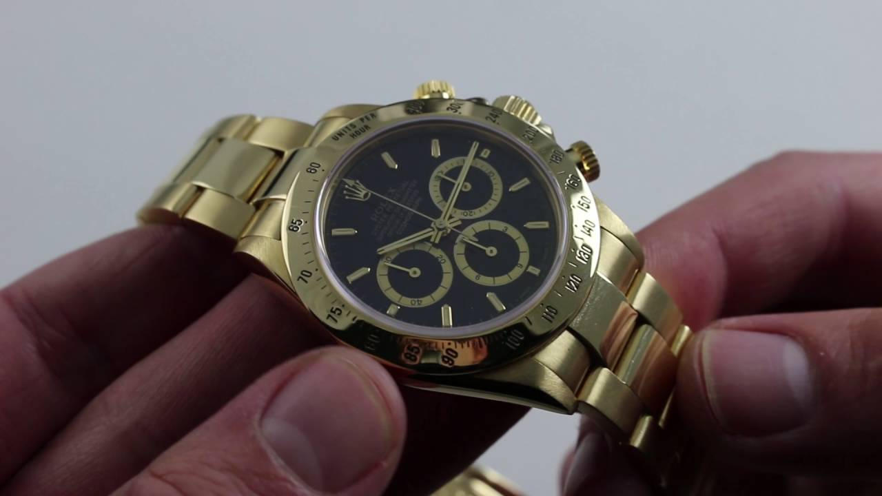 on sale 39b94 04143 Rolex Oyster Perpetual Cosmograph Daytona 16528 Luxury Watch Review