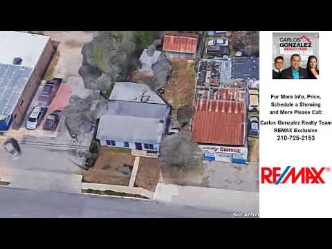 4411 W COMMERCE ST, San Antonio, TX Presented by Carlos Gonzalez Realty Team.