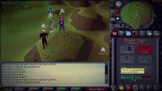 Dont Try It - 60 Attack Zerker - Old School RuneScape PK Video 2 - 40M+ PK'd