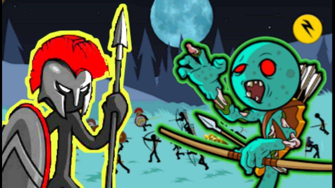 Người Que Đại Chiến Zombie, Cuộc Chiến Bắt Đầu - Stick War Legacy| OsiGaming