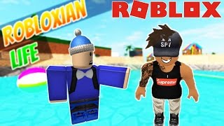 DISGUISED AS A GUY dans Robloxian Life sur Roblox