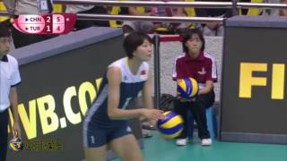 Highlights of Big Star YuanXinyue in Marco series -2017 FIVB Volleyball   World Grand Prix
