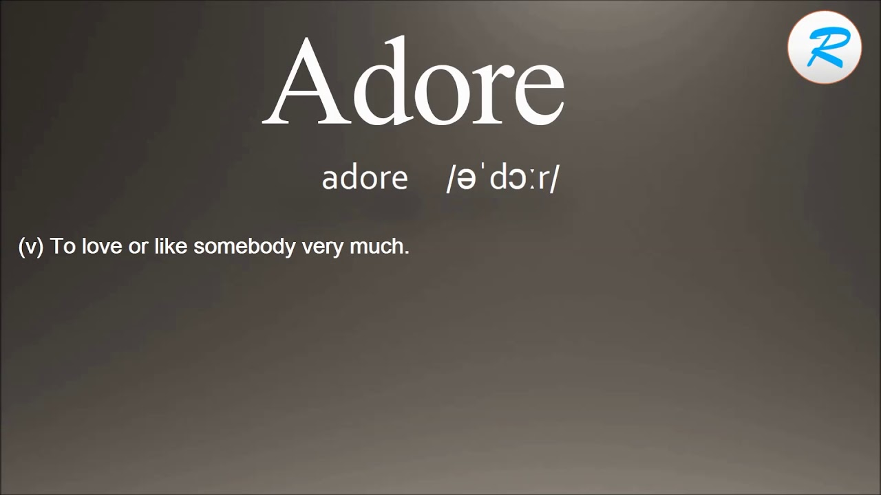 how to pronounce adore | adore pronunciation | adore meaning |adore