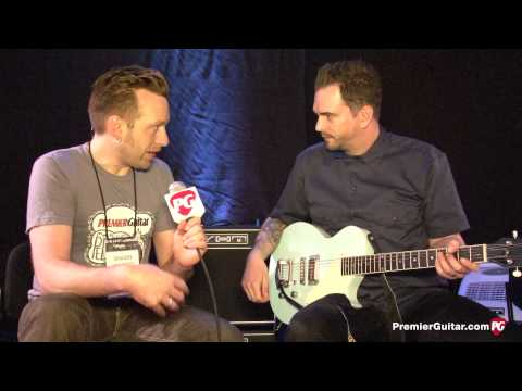 NAMM '14 - AXL Guitars USA Bel Air Demo