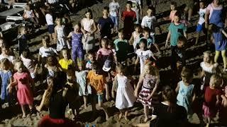3) Tui Fun & Sun Club Saphire 5* 18.06.18 детская дискотека на пляже