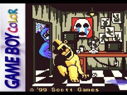 Five nights at Freddy's Game Boy COLOR | FNAF horror pocket thumbnail