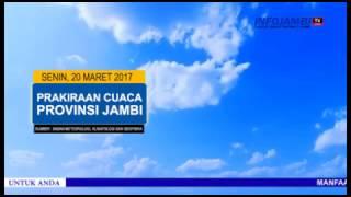 PRAKIRAAN CUACA 20 MARET 2017
