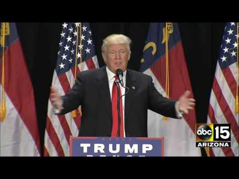 FULL: Teleprompter Trump! Donald Trump APOLOGIZES at Charlotte, North Carolina Rally