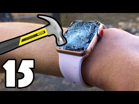 15 WAYS TO BREAK AN APPLE WATCH