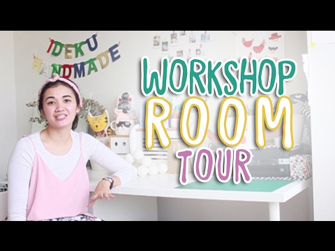 Workshop Room Tour | MARTHA PURI - IDEKU HANDMADE (Bahasa Indonesia)