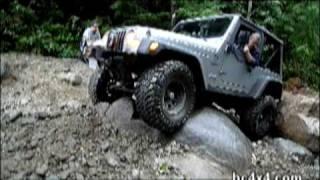 Jeep TJ on Eagle Ridge Mtn.