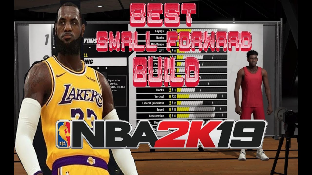 ae69a94248ef NBA 2K19 LEBRON JAMES BUILD TUTORIAL! BEST SMALL FORWARD! RATINGS+BADGES  PRELUDE GAMEPLAY