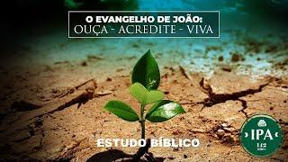 Estudo Bíblico - O evangelho de João: JESUS o Logos   João 1.1-5    Presb. Nivaldo Pereira de Souza