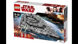 ЗВЕЗДНЫЙ РАЗРУШИТЕЛЬ ПЕРВОГО ОРДЕНА, LEGO® Star Wars™ 75190