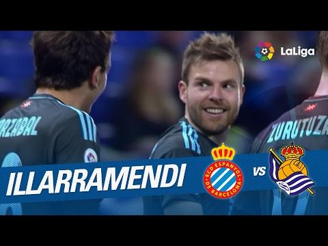Golazo de Illarramendi (1-2) RCD Espanyol vs Real Sociedad