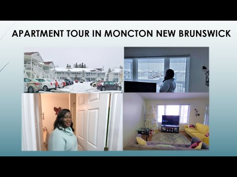 Apartment Tour in Moncton New Brunswick Canada| Affordable Housing in Canada