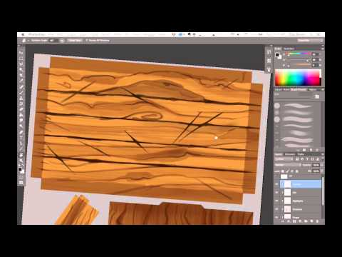Texturing 01 - Wood Table!
