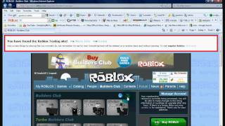 ROBLOX How To Get Free OBC/Robux On Gametest.Roblox.com