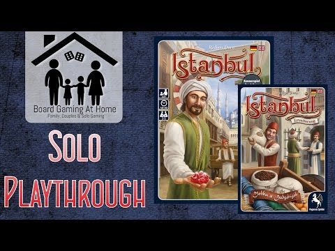 Playthrough of Istanbul Board Game with Mocha & Baksheesh Expansion