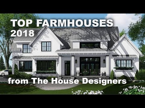 Top-Selling Farmhouse Plans of 2018 | The House Designers