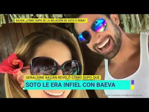 Gabriel Soto responde a video de Geraldine Bazán donde habla de su infidelidad  | De Primera Mano