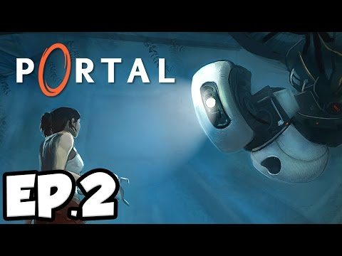 Portal Ep.2 - THE COMPANION CUBE!!! (Gameplay / Let's Play)