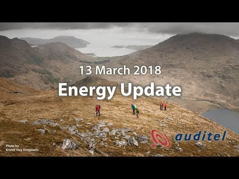 Energy Update for 13 March 2018