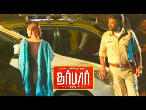 Darbar Mass scene Leaked - Rajinikanth | Nayanthara | AR Murugadoss | Lyca Productions