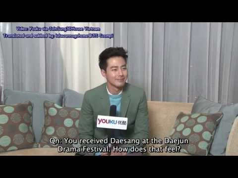 [ENG SUB] Jo In Sung Youku Interview 1/2 141202