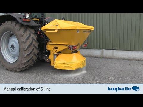 Manual calibration of