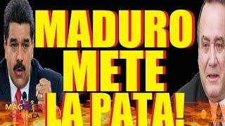 HACE UN MINUTO🔴 Giammattei y GUAIDO le responden a MADURO! -MADURO impide entrada de GIAMMATTEI