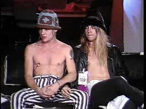 Red Hot Chili Peppers - Interview 1986