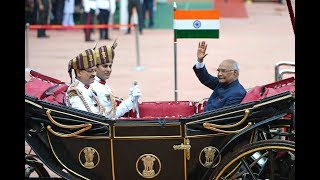 Swearing in Ceremony of the 14th President of India, Shri Ram Nath Kovind
