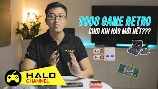 [Haloshop] Cả một bầu trời tuổi thơ với thế hệ máy chơi game Retro 3000 trò