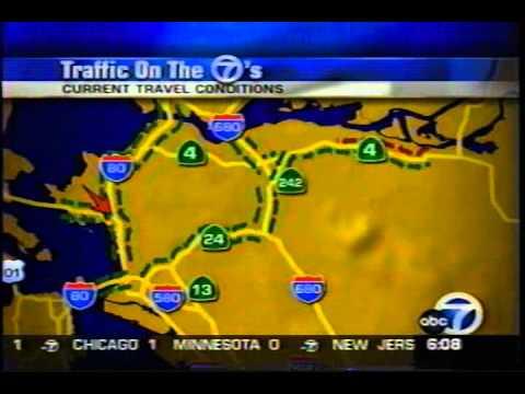 Knx 1070 Traffic Map.Kgo Traffic Report Daya Youtube